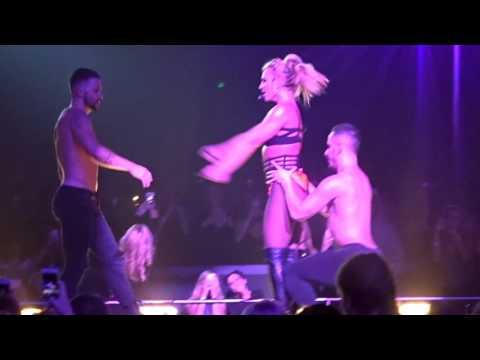 Britney Spears Touch of my Hand live in Las Vegas on 10/26