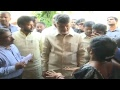 AP CM Visits Cyclone Titli Hit Santhabommali in Srikakulam