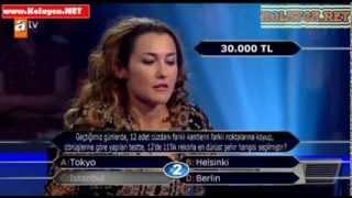 Kim milyoner olmak ister 280. bölüm 02.11.2013 Özgen Kolaşin