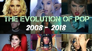 The Evolution of Pop | Mega Mashup 2008 - 2018