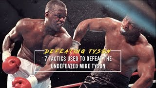 How Mike Tyson was Defeated by Buster Douglas | 7 Tactics