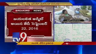 Jayalalithaa's Last Words with Apollo doctors released..