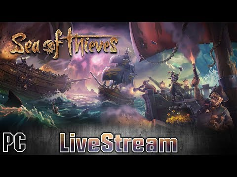 Sea of Thieves - LiveStream #01 [FR] Je pars a l'aventure avec ...