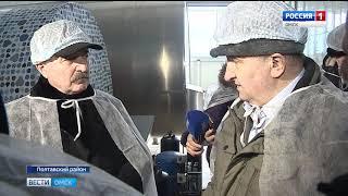 Представитель Минсельхоза России посетил молочно-товарную ферму в Полтавском районе