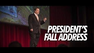 ISU President Satterlee Fall Address 2018