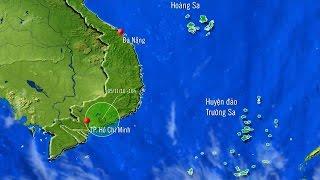 Áp thấp nhiệt đới gây ảnh hưởng từ Bình Thuận đến Bà Rịa - Vũng Tàu