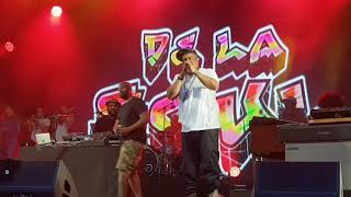 DJ Premier & De La Soul Live at Somerset House London 14/07/18