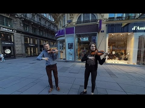 Stereo180 VR - Violin performance at St. Stephen Platz Vienna by Kc Lai