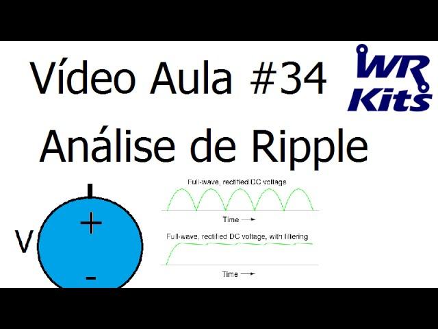 ANÁLISE DE RIPPLE | Vídeo Aula #34