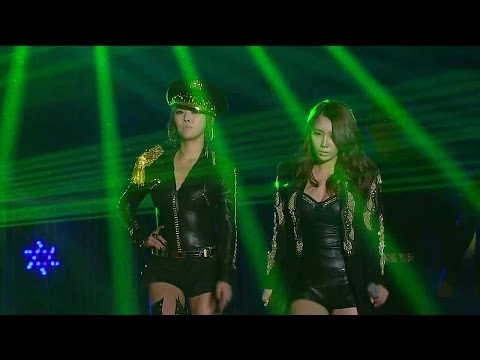 【TVPP】Brown Eyed Girls - Abracadabra + Sixth Sense, 브아걸 - 아브라카다브라 + 식스 센스 @ 2011 KMF