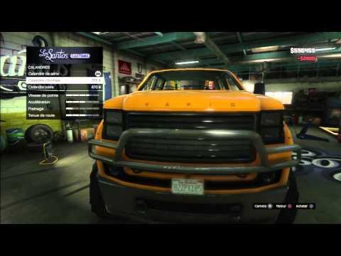 GTA5 TUNING GARAGE MONSTER TRUCK