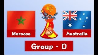 Morocco vs Australia | Group D | 2nd World Cup China | PES2017
