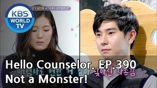 My husband didn't get plastic surgery. He's a natural beauty! [Hello Counselor/ENG,THA/2018.12.03]