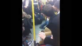 Tube Passengers Ignore Man Collapsed On Floor