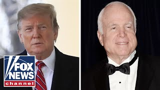 Trump: I was never a fan of John McCain, never will be