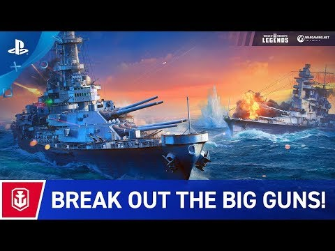 World of Warships: Legends | Launch Trailer | PS4