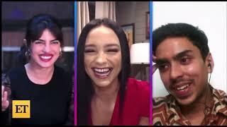 Priyanka Chopra Jonas and Adarsh Gourav interview for The White Tiger