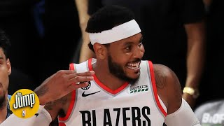 Reports of Camelo Anthony's basketball demise were apparently premature   The Jump