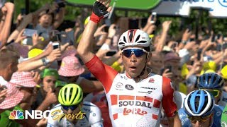 Tour de France 2019: Stage 16 finish | NBC Sports