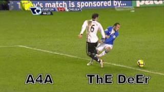 Everton 2-1 Chelsea - Goals - 10-Feb-2010