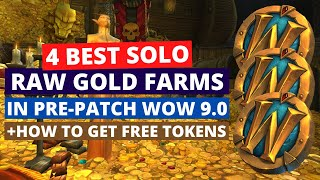 4 best solo raw gold farms in pre-patch | WoW Shadowlands 9.0