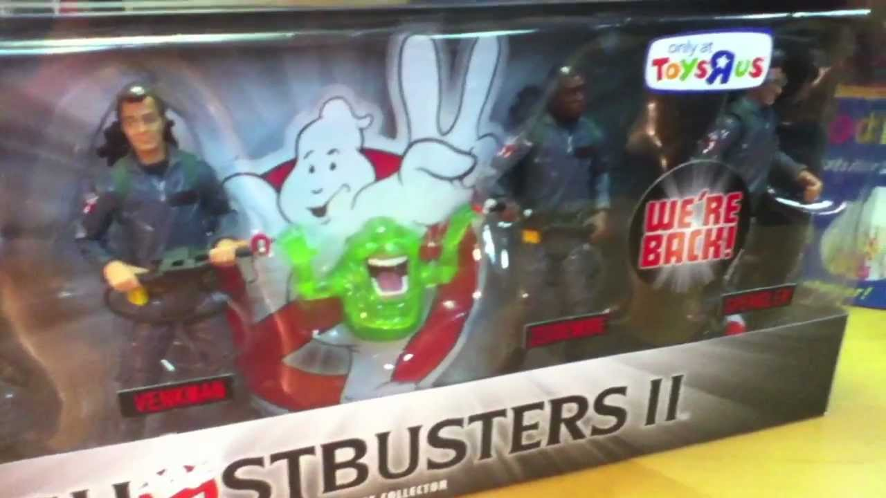 Ghostbusters and Slime...