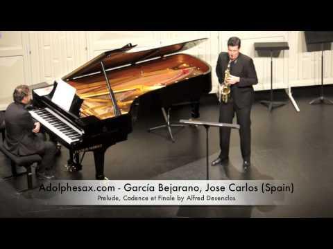 Garcia Bejarano, Jose Carlos Prelude, Cadence et Finale by Alfred Desenclos