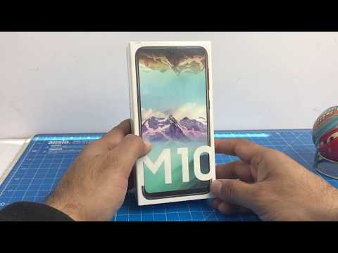video Samsung Galaxy M10