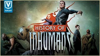 History Of Marvel's Inhumans!