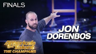 Jon Dorenbos: Magician Delivers Jaw-Dropping Performance - America's Got Talent: The Champions