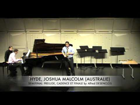 HYDE, JOSHUA MALCOLM AUSTRALIE PRELUDE, CEDENCE ET FINALE by Alfred desenclos