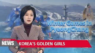 South Korea wins gold in women's 3,000 meter short track relay event