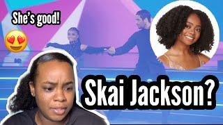 Dancing with the Stars - SKAI JACKSON | Reaction