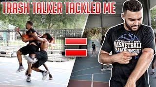 Trash Talkers TACKLED ME Because I Was GOING OFF! (Mic'd Up 5v5)