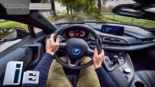 BMW i8 2017 Protonic Red Edition POV Test Drive
