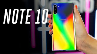 Galaxy Note 10 and 10 Plus hands-on: the small one is a big deal