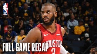ROCKETS vs WARRIORS | Chris Paul Leads Rockets In Golden State | February 23, 2019