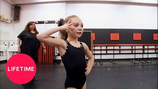 Dance Moms: Maddie Is Sick in Rehearsal (Season 1 Flashback) | Lifetime