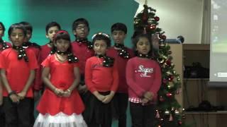 Gardens Barsha Prayer Group Dubai - Christmas Carol 2018 -Song by Junior Kids