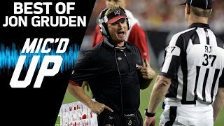 Jon Gruden's Best Mic'd Up Moments | Sound FX | NFL Films