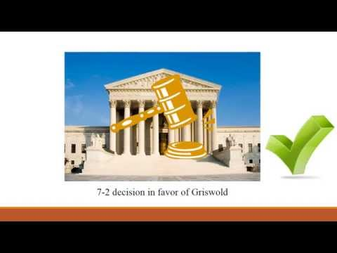 an overview of the griswold versus connecticut What was the impact of the griswold v connecticut ruling - 1152411.