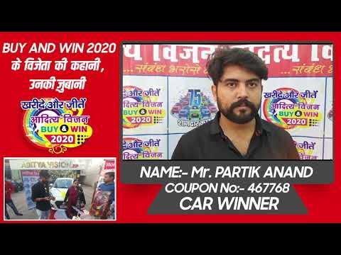 Buy and Win 2020 winner