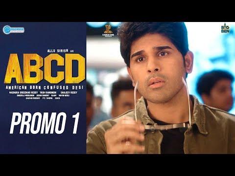 Release promo 1 of ABCD ft. Allu Sirish, Rukshar Dhillon