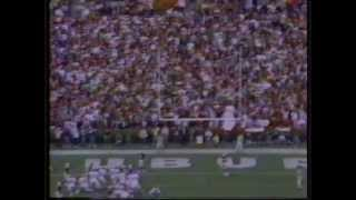 1989 Iron Bowl Auburn vs. Alabama