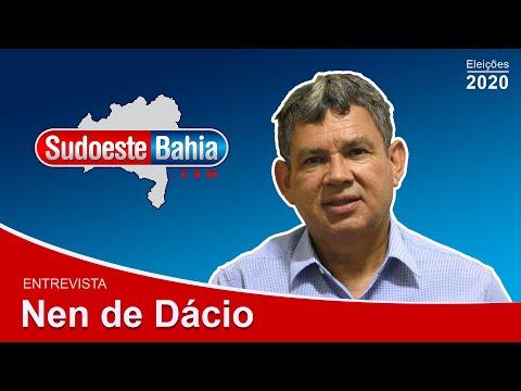 """""""Estou com Aldo Gondim"""", afirma Nem de Dácio em entrevista ao site Sudoeste Bahia"""