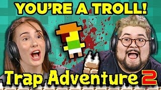 YOU'RE A TROLL! | TRAP ADVENTURE 2 (Adults React: Gaming)