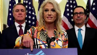 Kellyanne and George Conway agree on many things, but not on President Trump