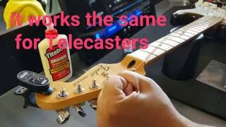 Mods anyone can do to their Fender Strat.