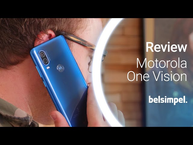 Belsimpel-productvideo voor de Motorola One Vision Blue