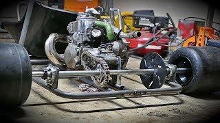 HOMEMADE shifter kart build 5 speed (day-1) Videos - mp3toke